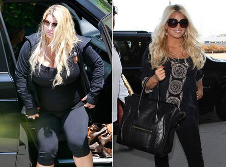 842fd9f058c01 Jessica Simpson's Slimmer Post-Pregnancy Body. Harley Pasternak Blogs: How Jessica  Simpson Works Out.