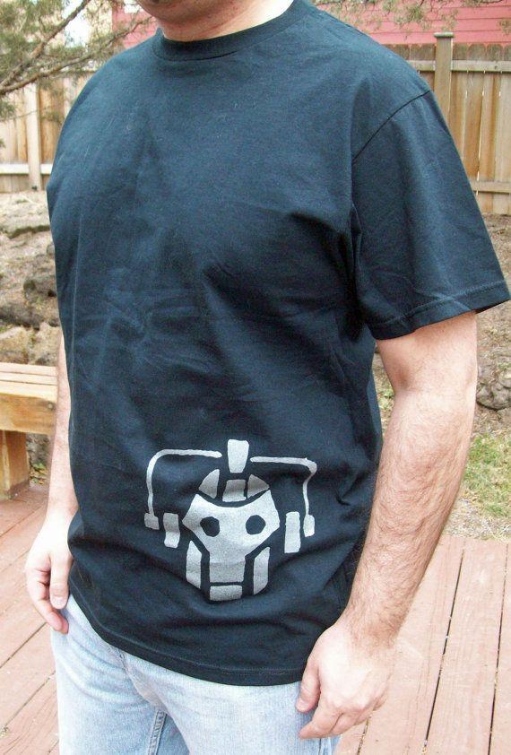 Dr Who Cyberman t shirt