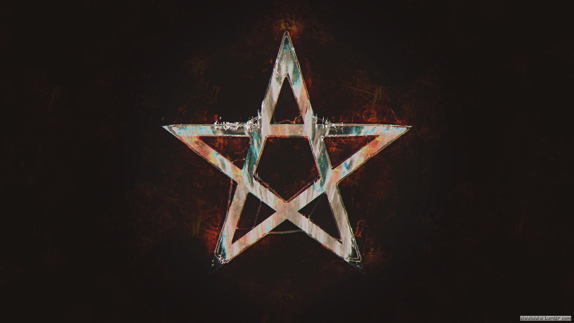 Pentagram Satan Abstract Dark [1920x1080] Hd wallpaper
