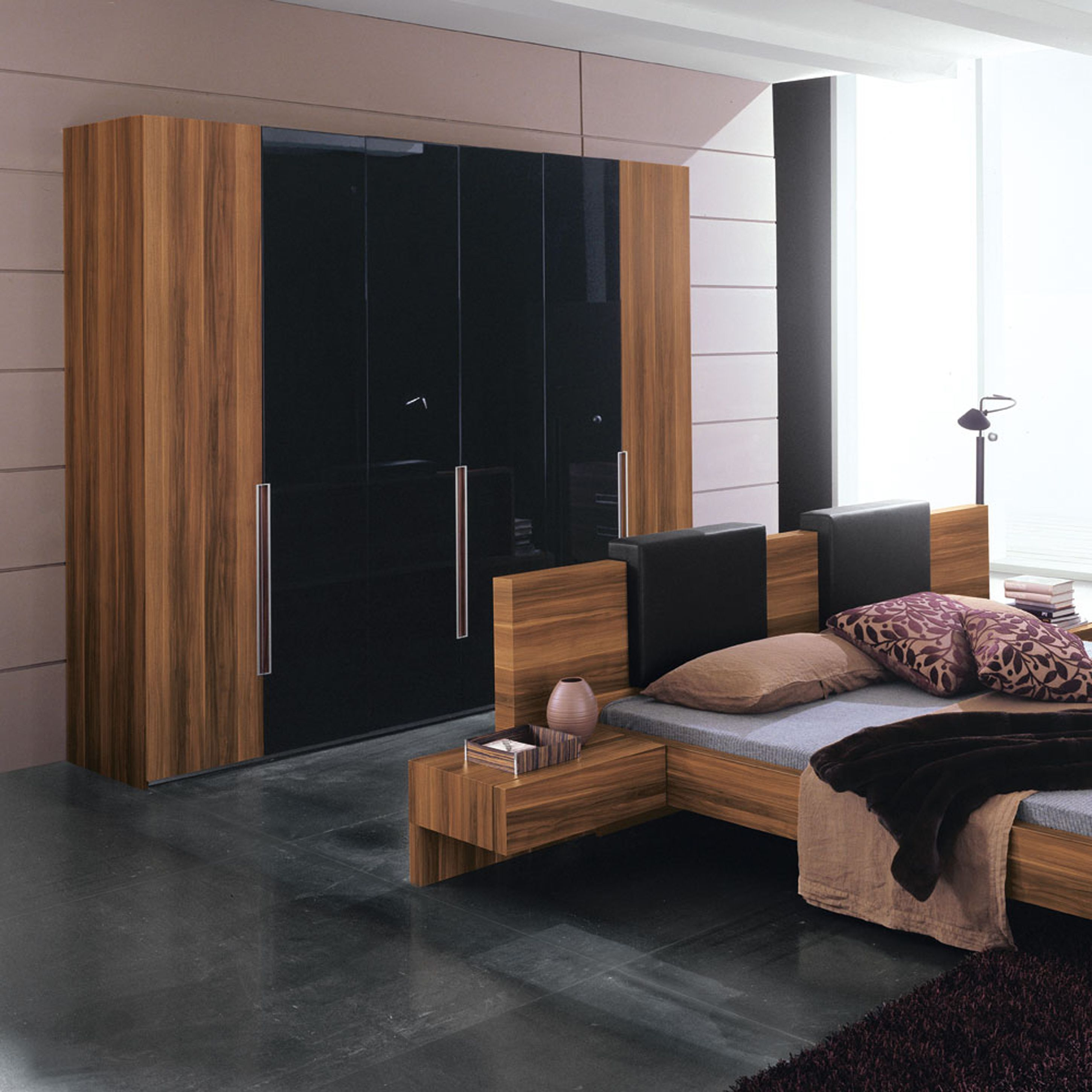 brown frame and bed with black fancy closet elegant design sets bedroom for pin