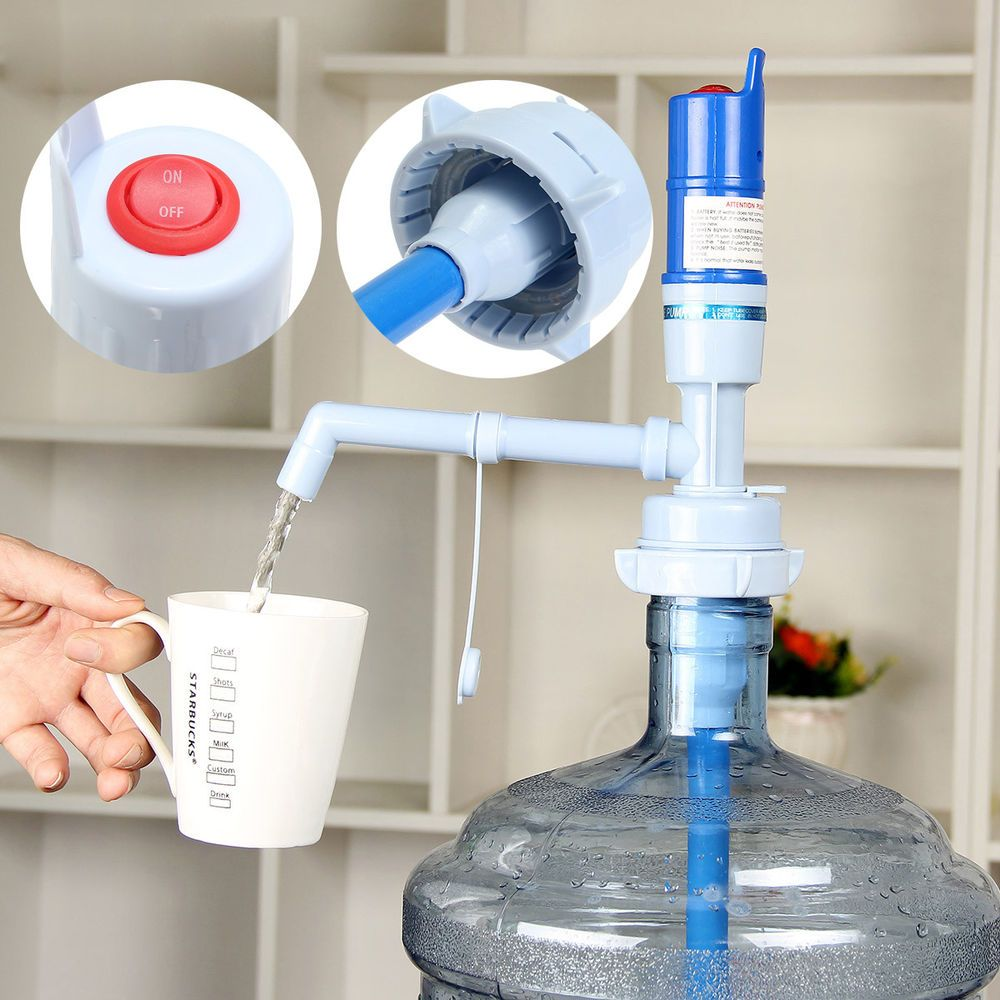 Specially Designed New Electric Water Pump Used For 5 Liter 5 Gallon Drinking Water Bottle Item Type X3a Drinking Wate Water Jug Drinking Water Water Pumps
