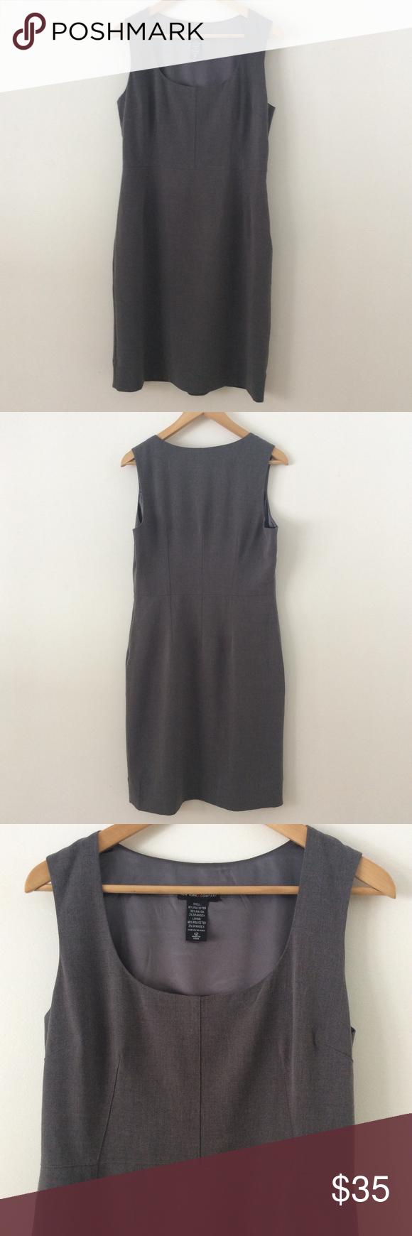 New york u company gray jumper dress size grey jumper dress