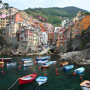 Cinque Terre, Italy -- BEAUTIFUL!