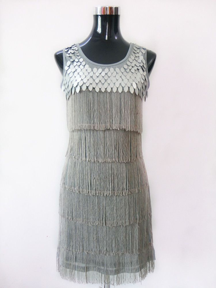 Fringe Style Flapper Party Dress