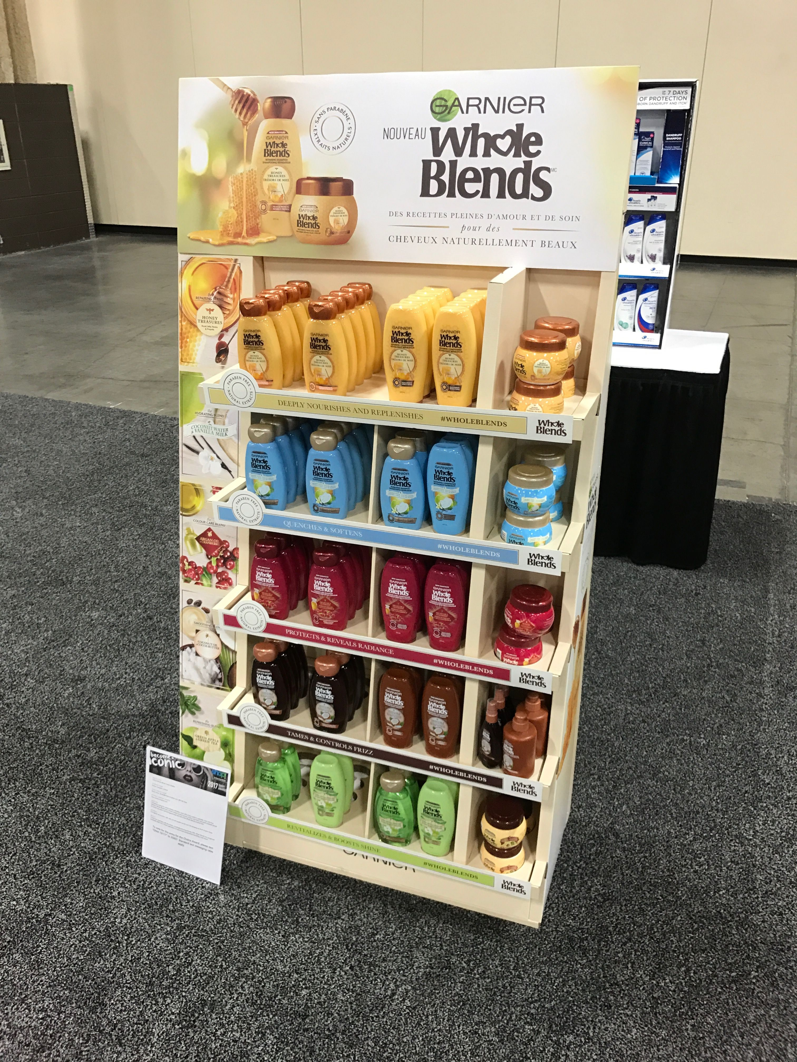 Looking To Purchase This Unit: Garnier Whole Blends Free Standing Unit