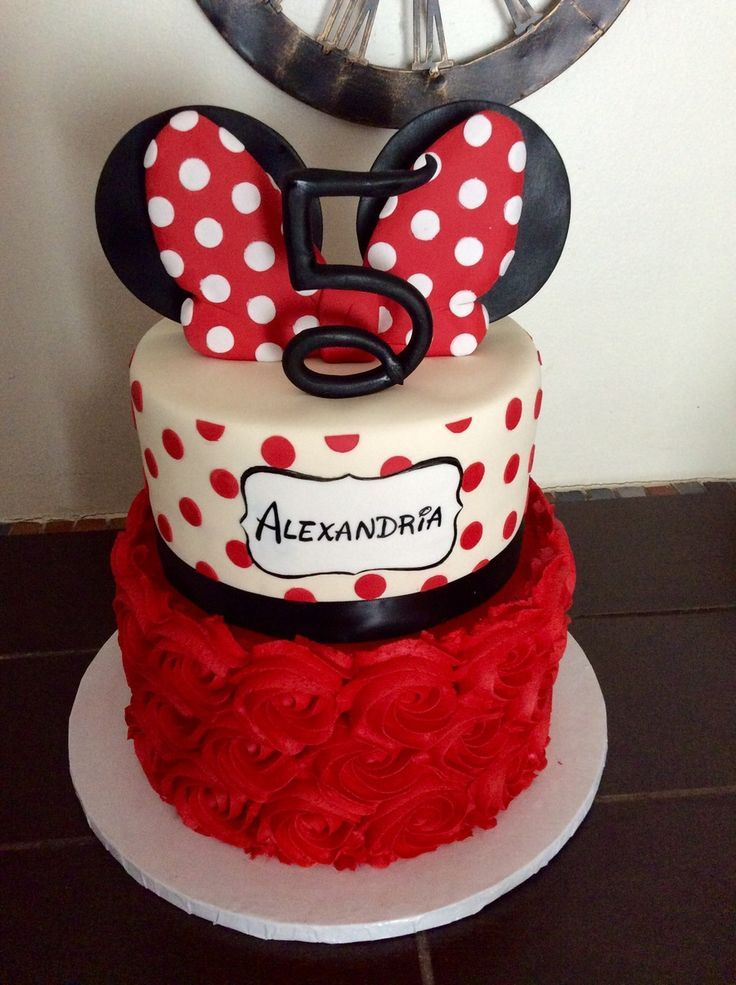 Minnie Mouse Cake Ideas Minnie Mouse Birthday Party