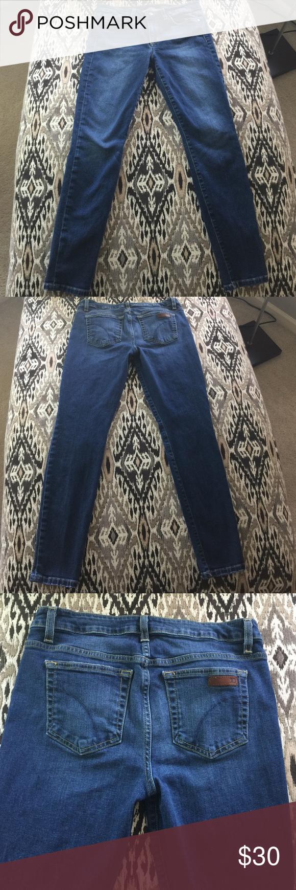 Joe's Skinny Jeans - Size 29 Like new Joe's skinny jeans.  Worn once.  98% cotton/2% Lycra. Joe's Jeans Jeans Skinny