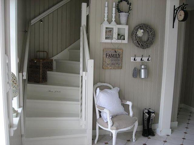 Liker detaljen med bygge ret i trappen trap pimpen pinterest trappen entree en interieur - Entree interieur decoratie ...