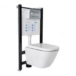 Zestaw Podtynkowy Wc Roca Active Gap Z Miska I Deska Wolnoopadajaca Zestawy Podtynkowe Classic Toilets Classic Interior Concealed