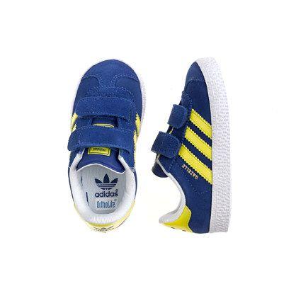 Kids' junior Adidas® gazelle sneakers in blue   Sneakers, Adidas ...