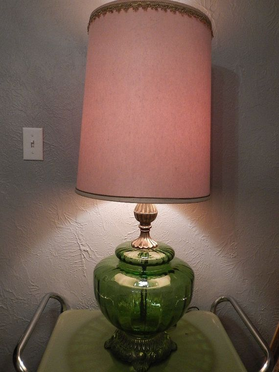Pin By Deb Larsen On Favorite Places Spaces Vintage Lamps Old Lamps Glass Lamp