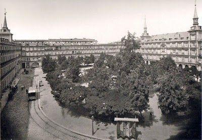 Plaza Mayor en los años 20. Corriente higienista