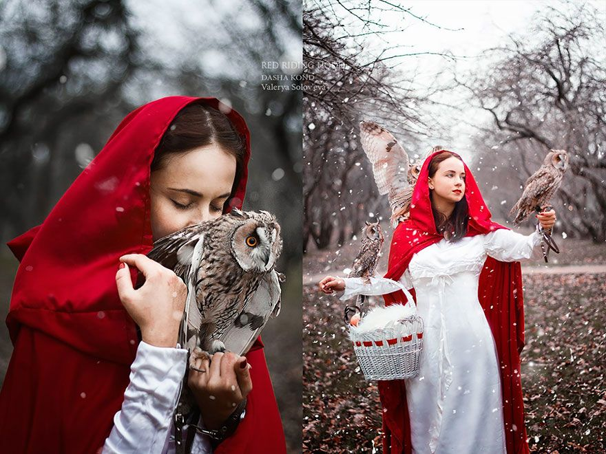 Red Riding Hood By Dasha Kond | Absolutely Beautiful Fairytale Photographs