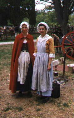 What kind of clothing was wore in revolutionary war?