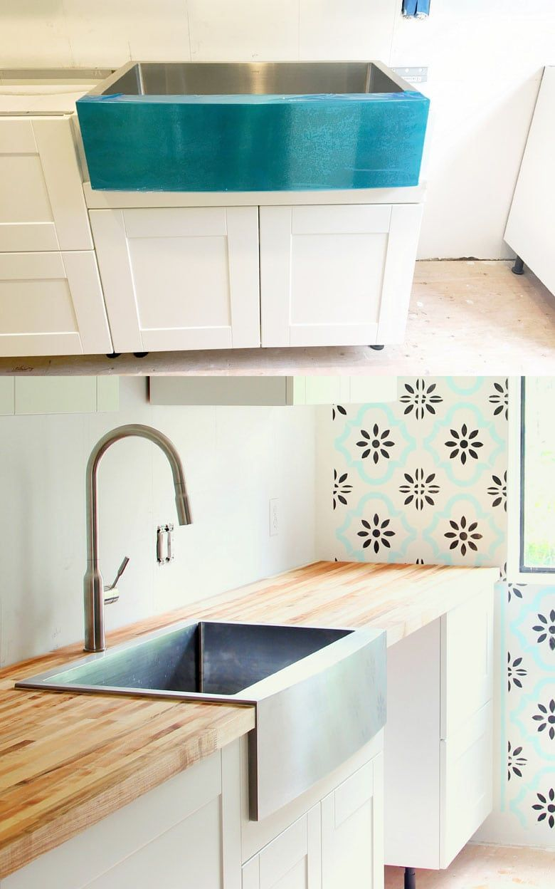 Our Stainless Steel Farmhouse Sink 100 Day Review Stainless