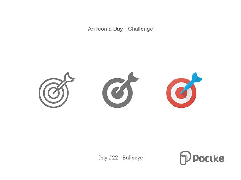 Icon Challenge Day 22 Bullseye Target Bullseye Target Icon Bullseye