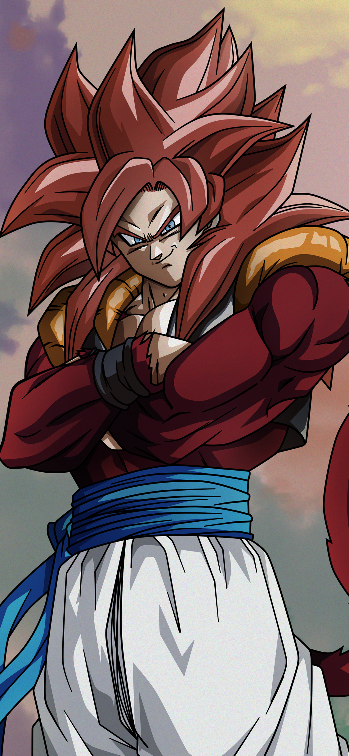 Download this Wallpaper Anime/Dragon Ball GT (1125x2436