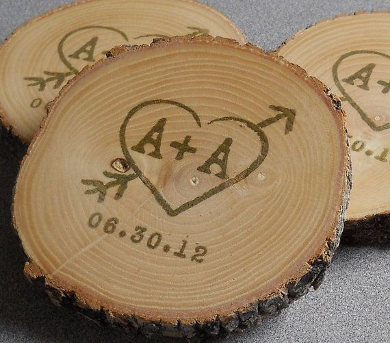 Personalized Rustic Wedding Favors Ash by vermontbranchcompany, $145.00