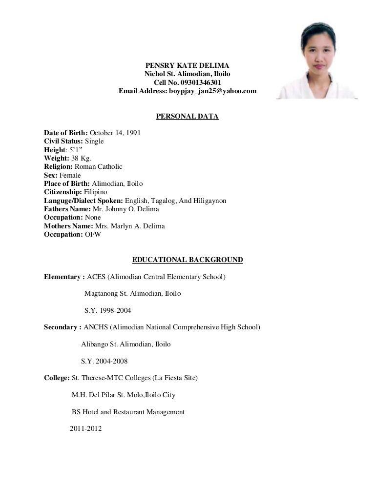 Ixiplay Free Resume Samples Example Of Resume For Ojt Hrm Students Resume Ixiplay Free 997cc5fa Resumesample Resumefor Resume Business Invitation Job Resume