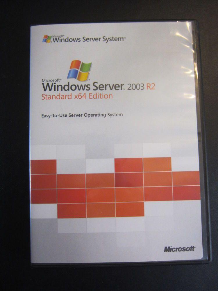 Windows Server 2003 Standard R2 Cheap License