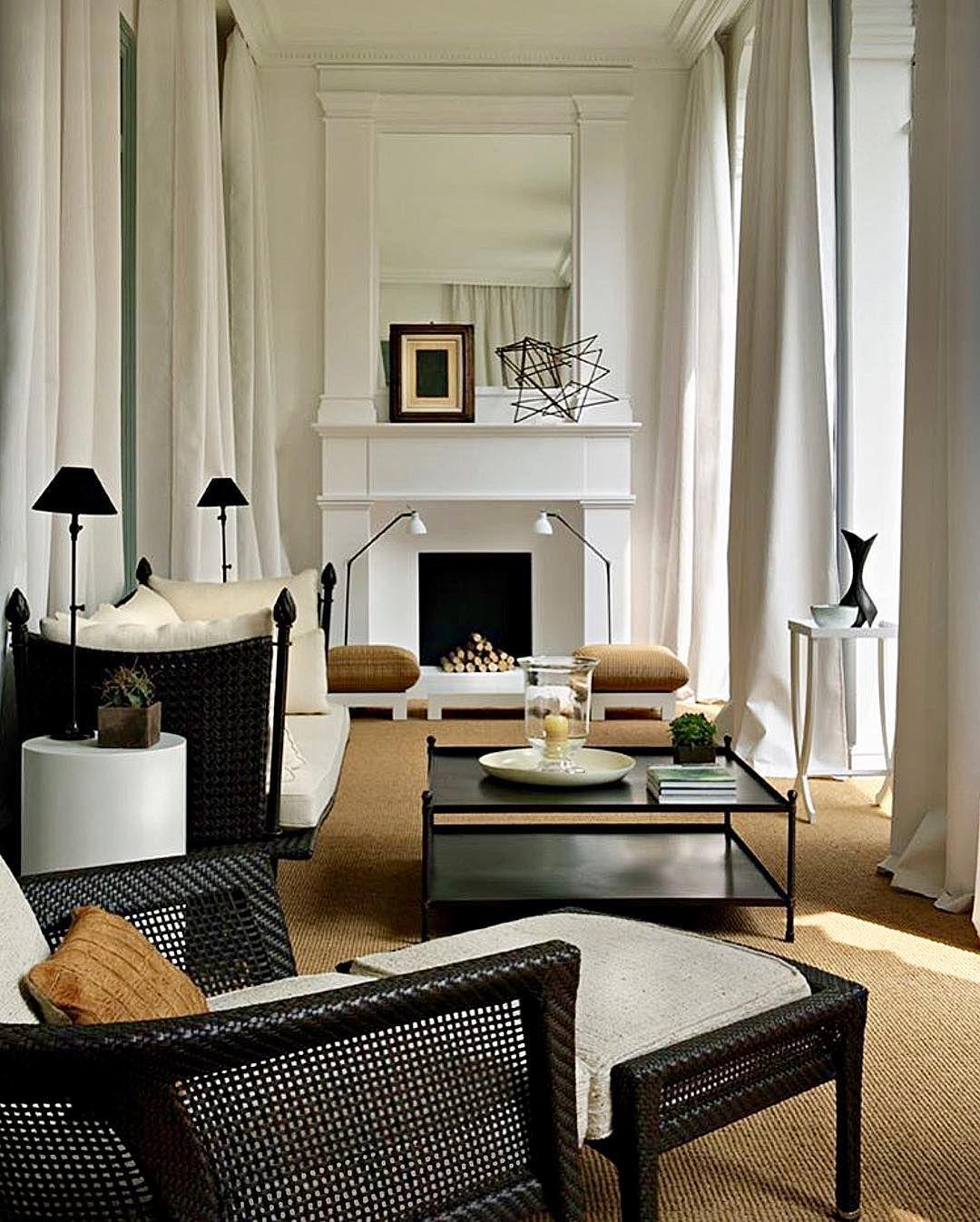 john roman on instagram black white gold on beautiful modern black white living room inspired id=20587