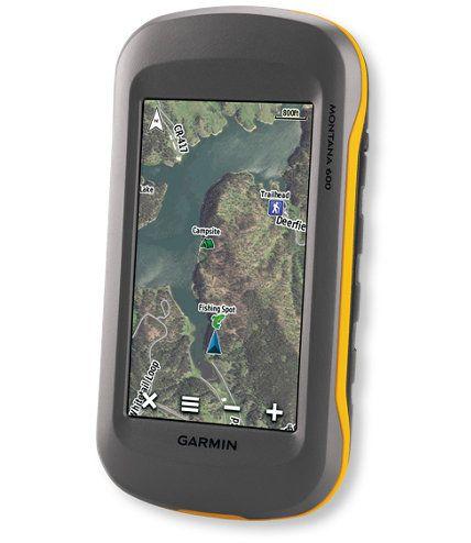 Garmin Montana 600 GPS: Handheld GPS   Free Shipping at L.L.Bean