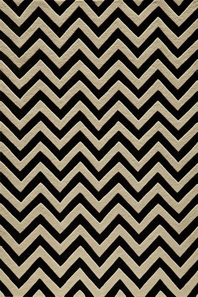 balck and white chevron rug   westoncarpet.com