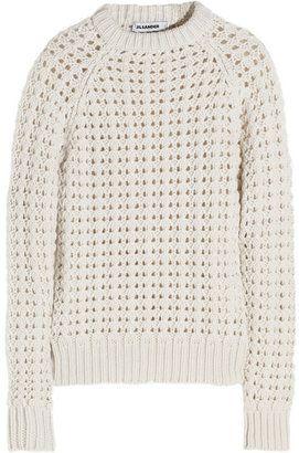 e7f362a9192ea8 Jil Sander   WHITE FASHION   Cashmere sweaters, Sweaters, Knitting