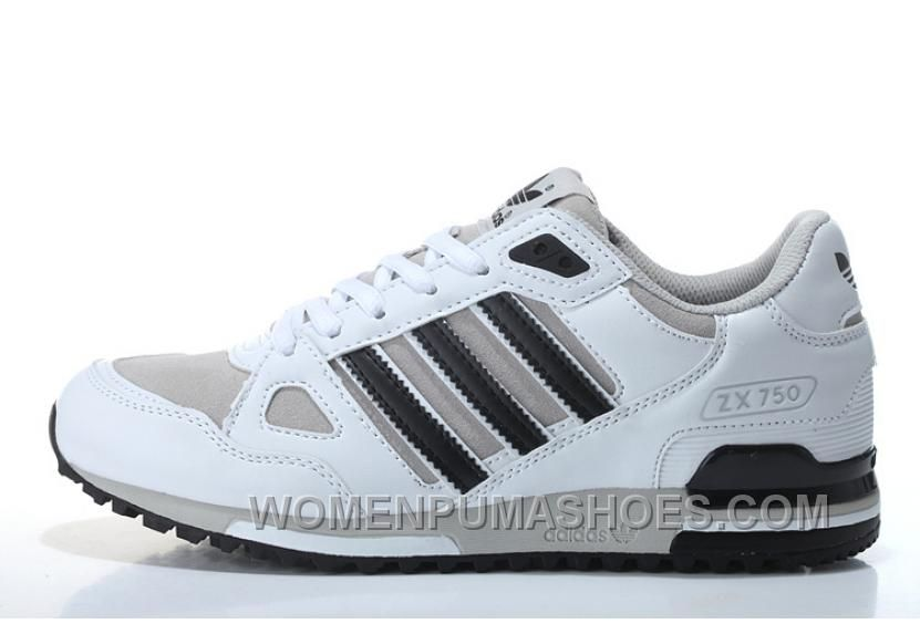 Adidas ZX750 hombres blanco negro online x8mpc blacked online, Adidas