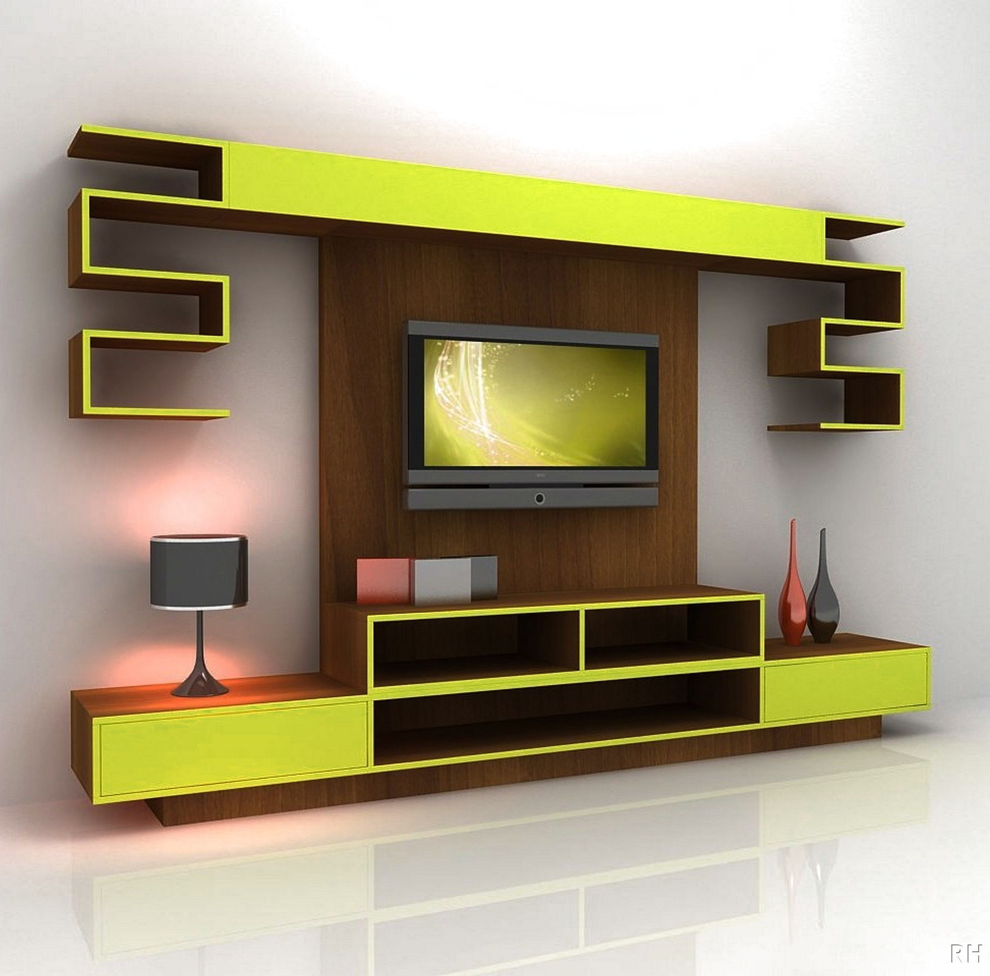 Lcd Tv Wall Unit Design Ideas httpultimaterpmodus Pinterest