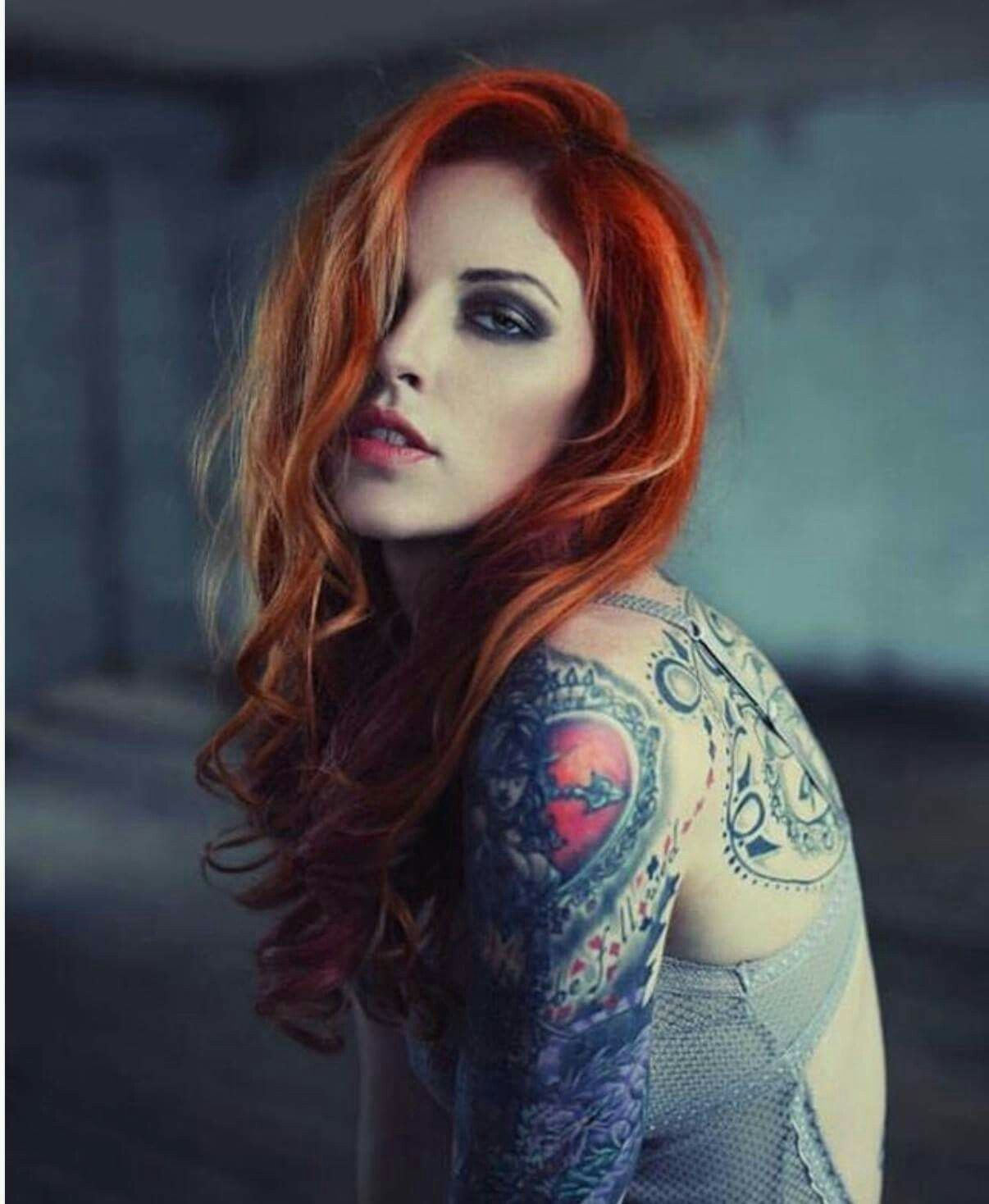 Thought differently, anna miller with redhead speak this