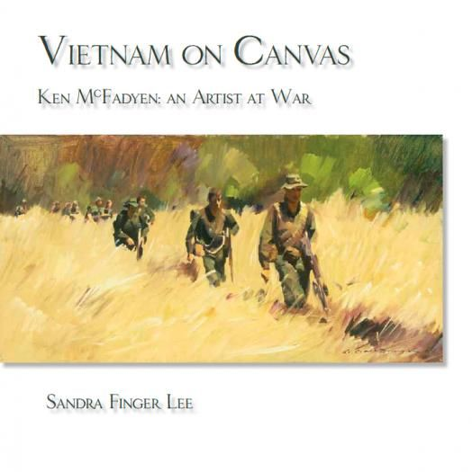 Barrallier Books is proud to present Sandra Lee's beautiful and sensitive account of the life and work of Australian official war artist Ken McFadyen. #Vietnam on Canvas contains a rich balance of Ken McFadyen's life, art and #military service in Vietnam. 58 images of his #paintings and #charcoal #sketches help tell the story of the day to day operations of the #Australian Task Force in Vietnam.