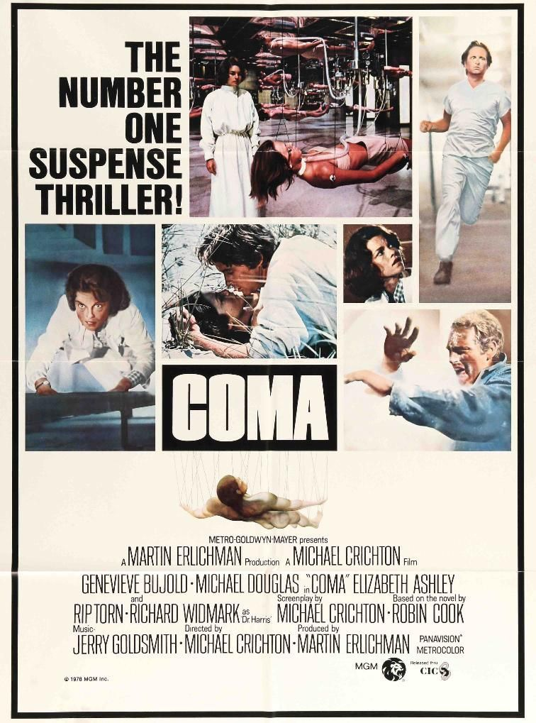 Coma (1978) Original One Sheet Movie Poster