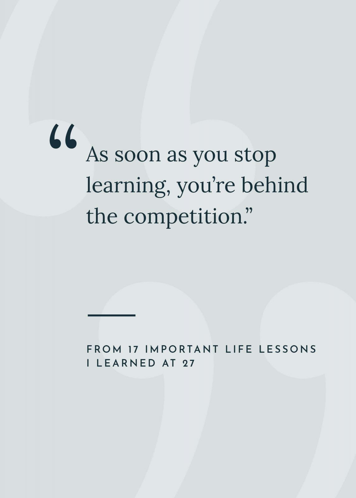 17 Important Life Lessons I Learned At 27 Kaylchip Life Lessons Important Life Lessons New Quotes