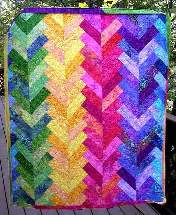 Free Quilt Patterns For Beginners Thread French Braid 1