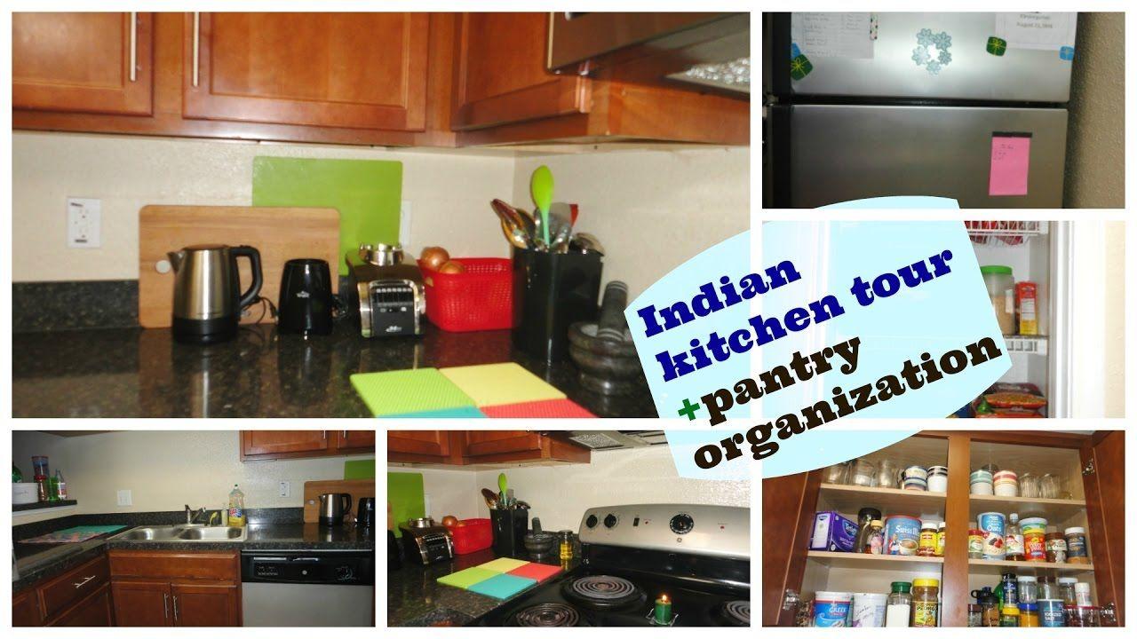 indian kitchen/pantry organization ideas | kitchen tour | pantry