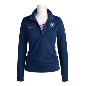 79069ba71 Fleece WEG 1/4 Zip Pullover - Ariat. Want this shirt | Show/Eventing ...