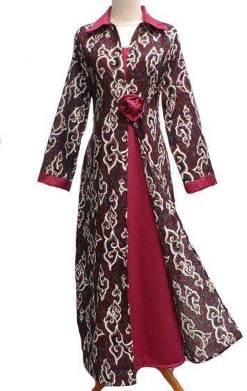 30 Model Baju Tenun Gamis Fashion Modern Dan Terbaru 2021
