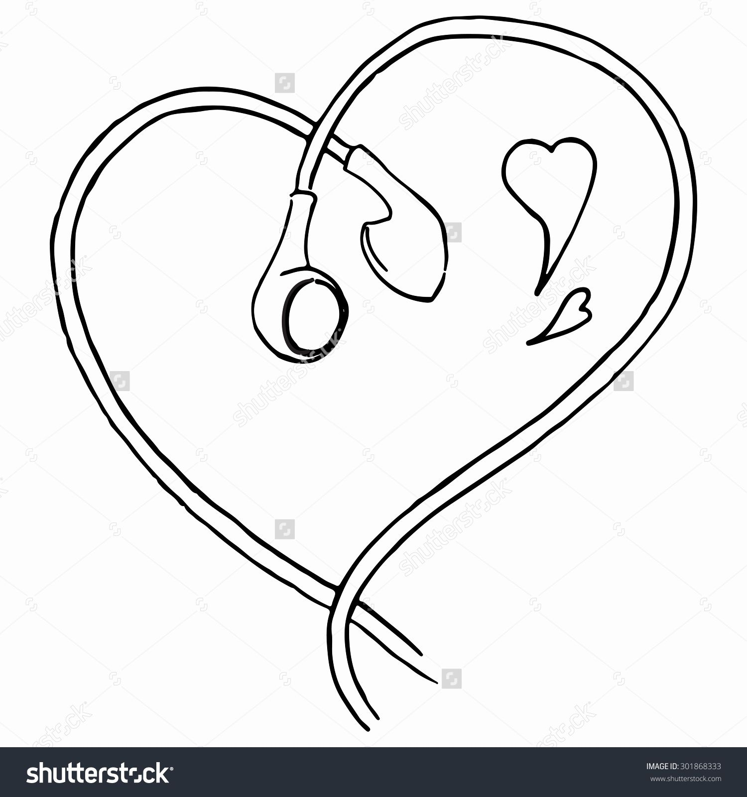 Image result for music earbuds draw