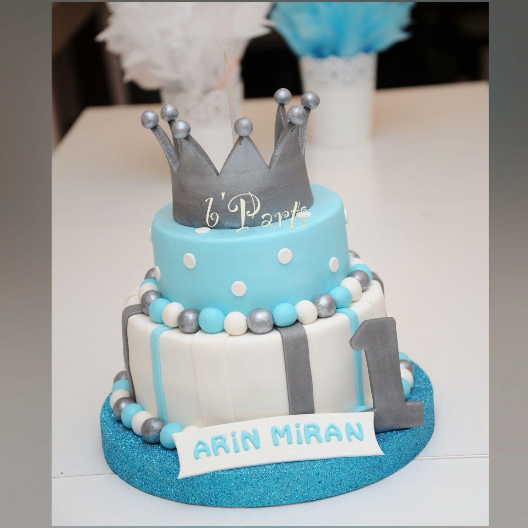 Baby Boy Birthday Cakes Ba Boy Cake First Birthday Cake
