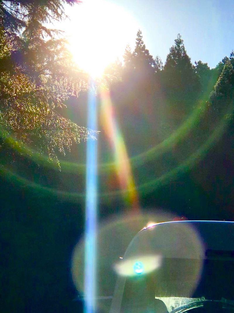 見るだけで運気がドカンとアップする!「光の写真」 #naturallandmarks