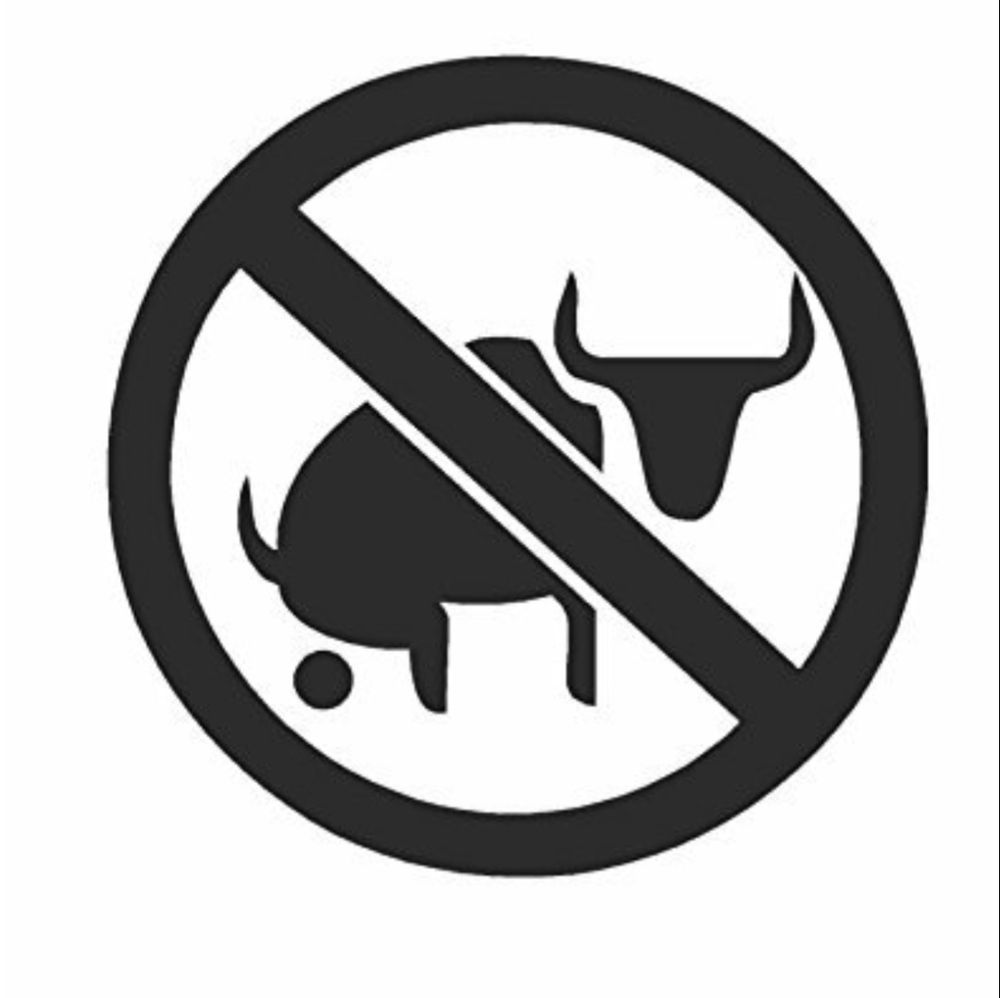 No bull bs any color window cars windows door wall vinyl decals