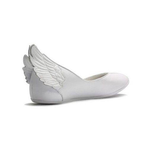Favorite Womens Jeremy Scott x Adidas Originals JS Wings Ballerina White  For  95.00 Jeremy Scott Adidas d5b9b1e1a