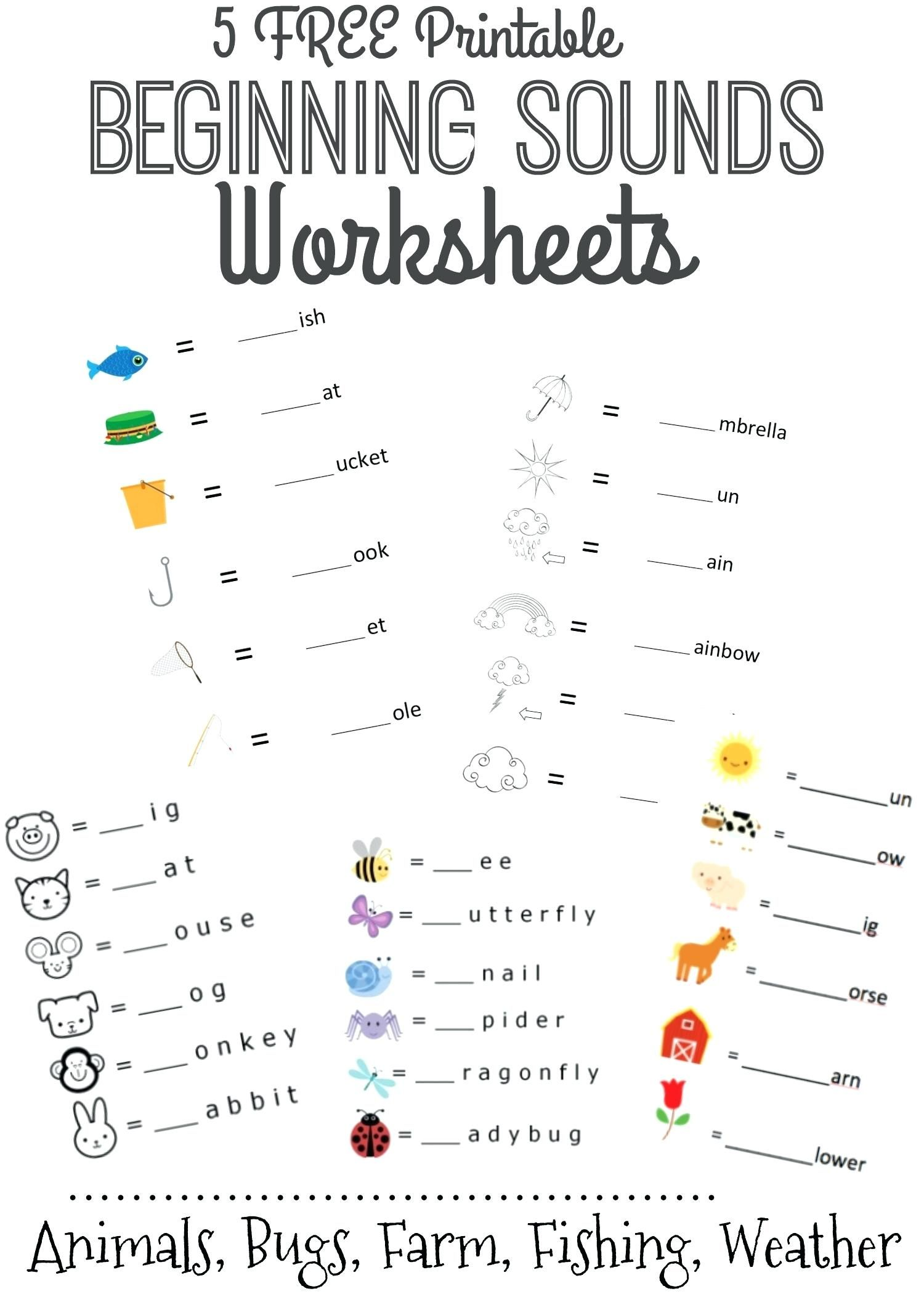Sign Language Printable Worksheets