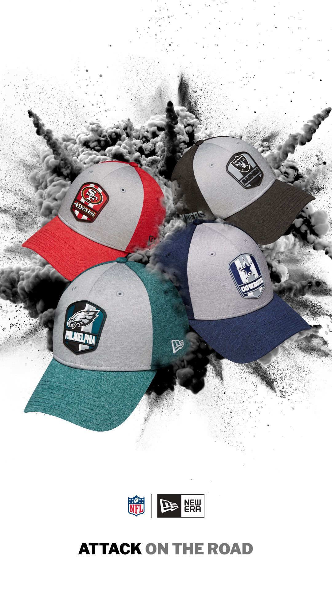 f7cbcf2b4d9 The 2018 Sideline Collection Aaway game hat features the team shield on the  front