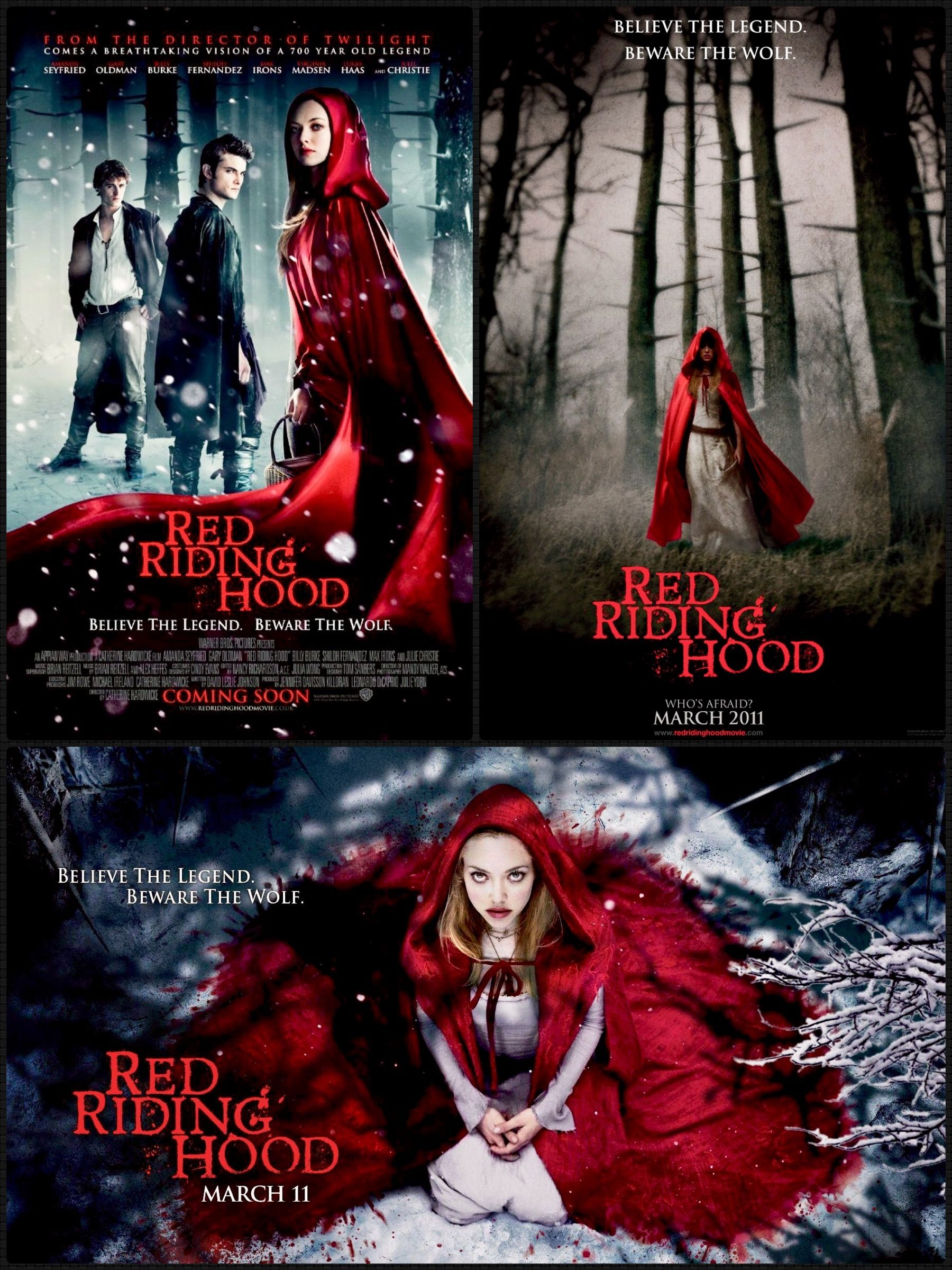 Red Riding Hood With Images Movie Posters I Movie Movies