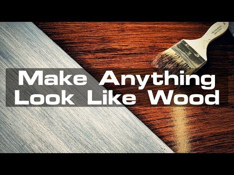 155 Make Anything Look Like Wood Youtube In 2020 Wood Staining Wood How To Make Foam