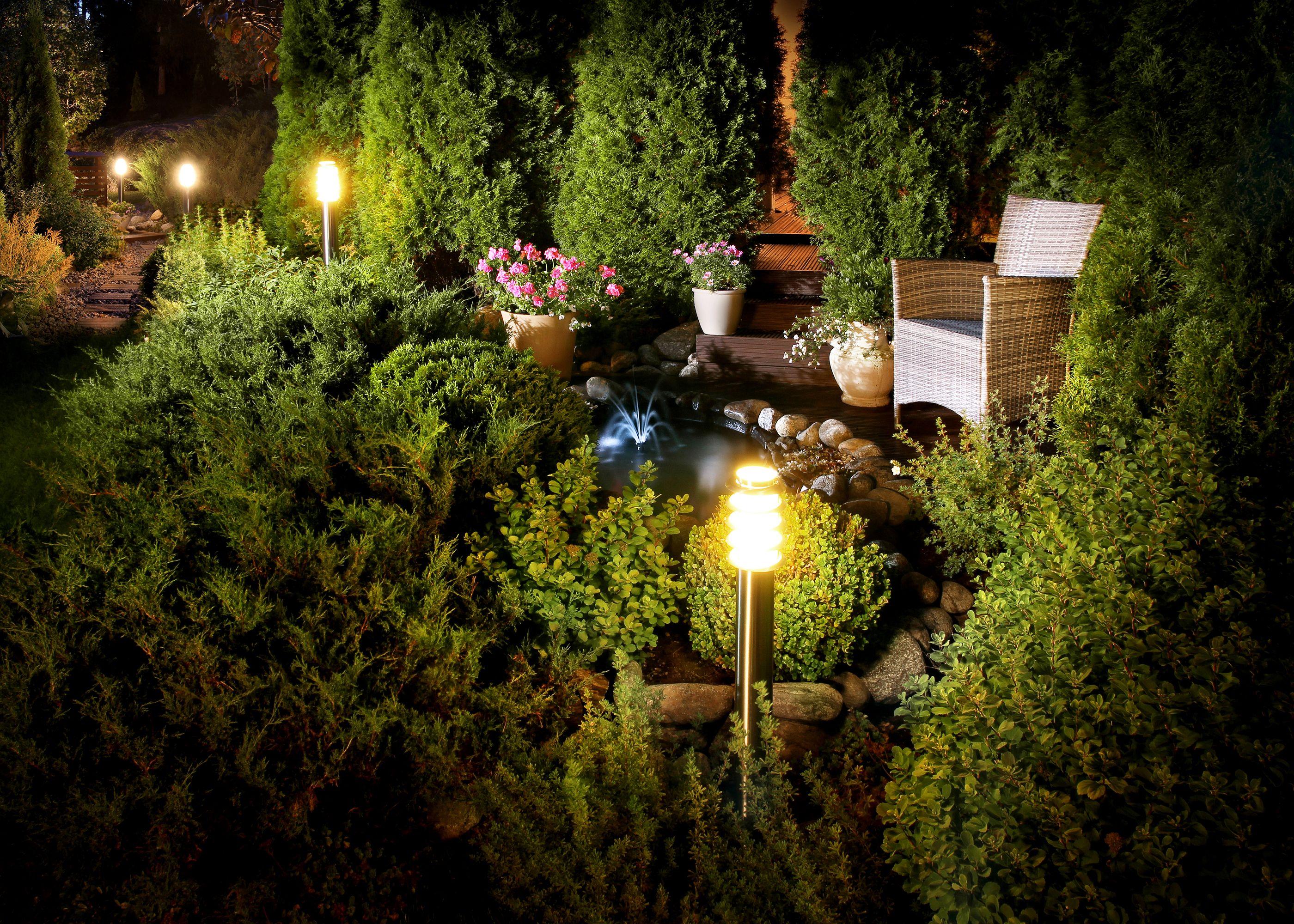 Planning Your Lightscape Landscape Lighting