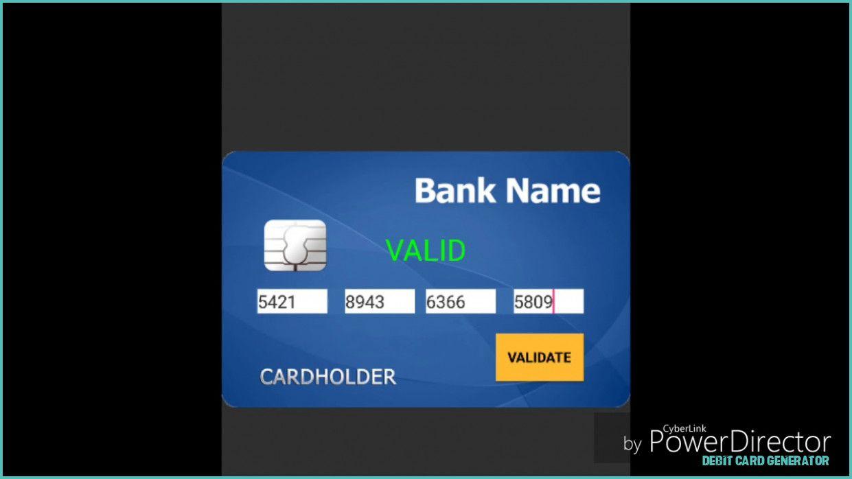What You Should Wear To Debit Card Generator debit card