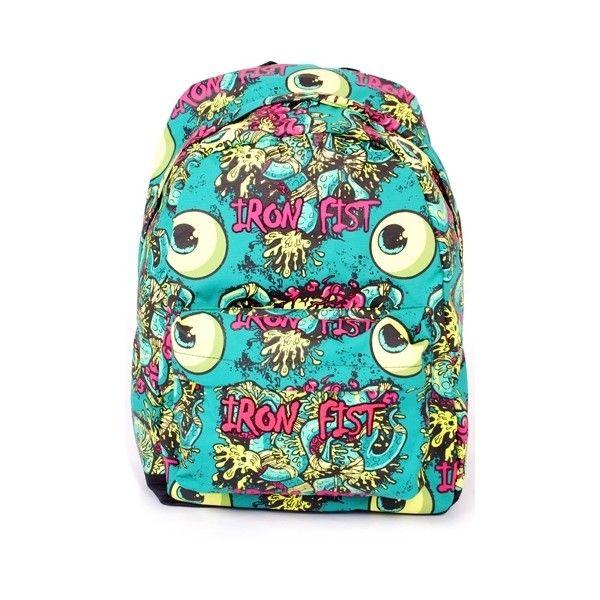 Iron Fist Eyeballs Tentacles Backpack